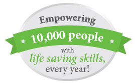 Empowering 10,000 people with life saving skills