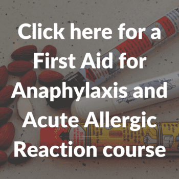 Anaphylaxis and Acute Allergic Reaction course