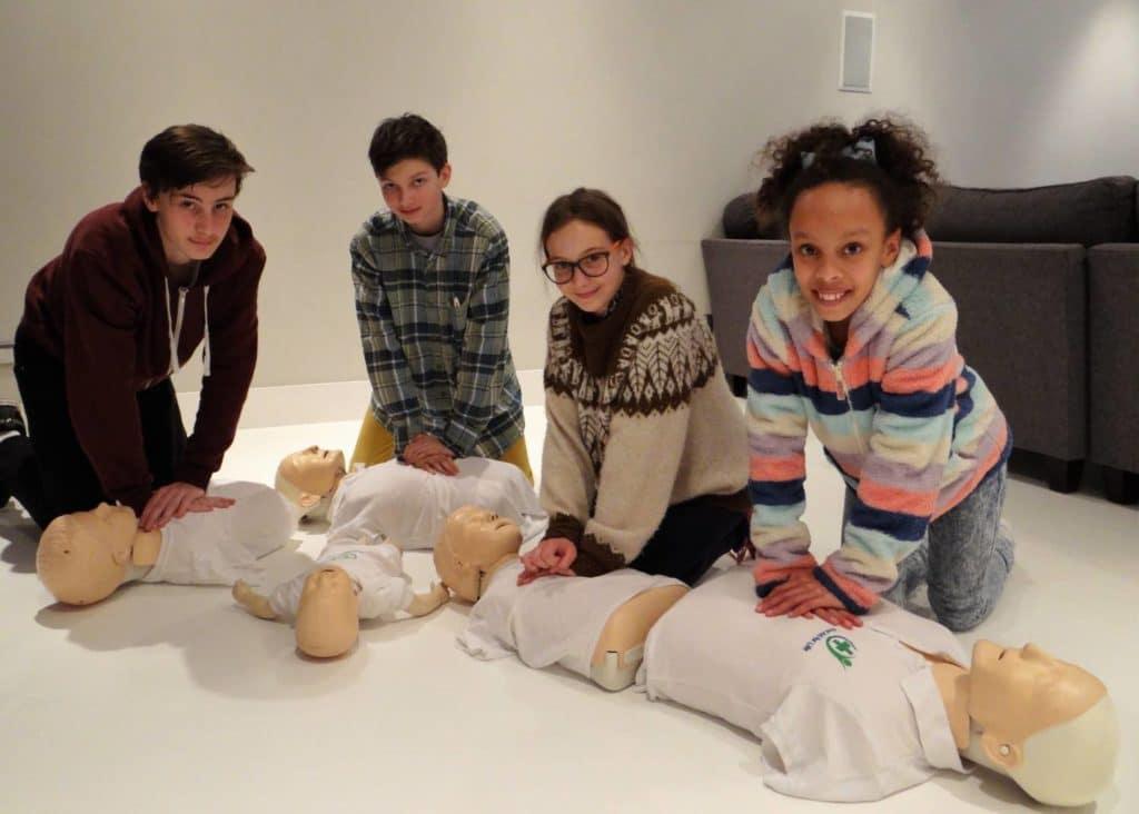 children teenage first aid