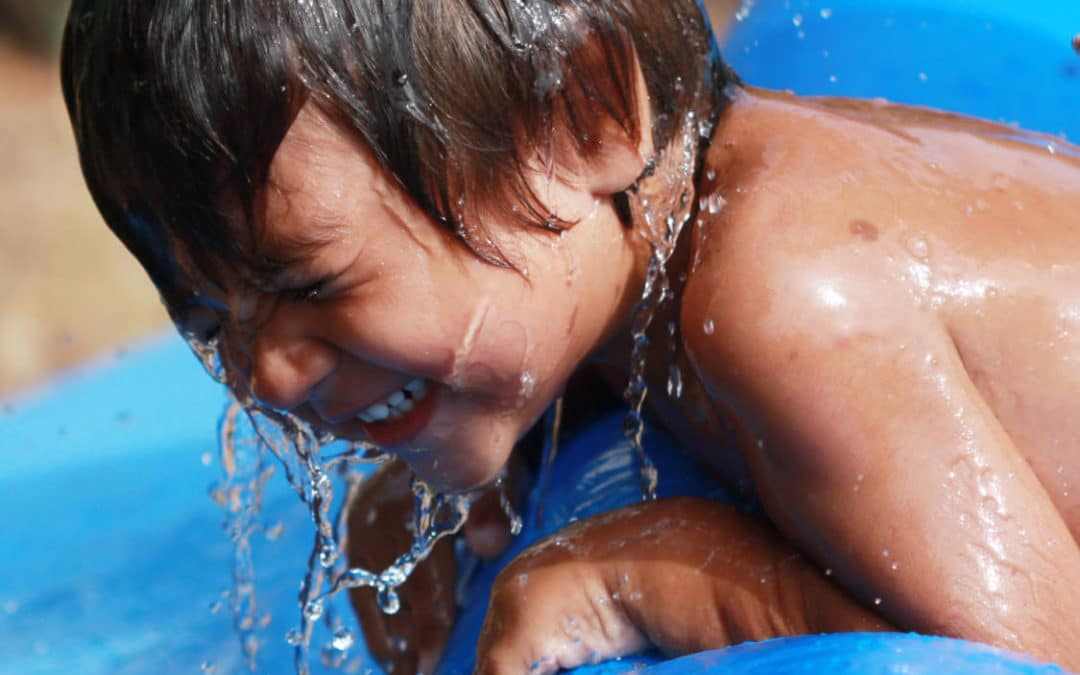 Top tips for keeping your children safe around water this summer