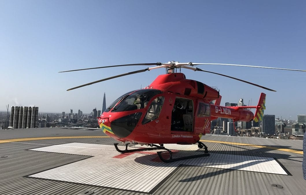 Going behind the scenes at The London Air Ambulance Service