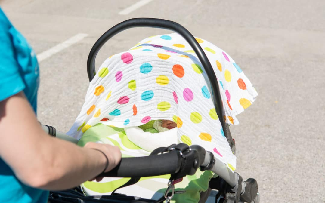 Is it dangerous to cover your pram? – how to keep your baby safe in the heat
