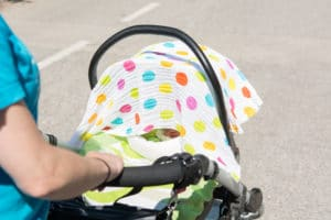 Is it dangerous to cover your pram - keep your baby safe in the heat