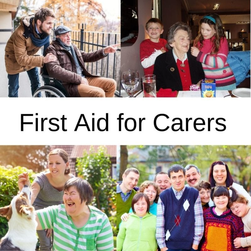 first aid for carers course