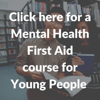 Mental health first aid course for young people