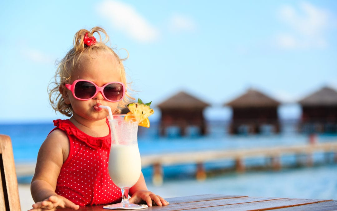 baby on holiday